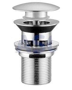 Pop-up Afvoerplug - zonder overloop - Chroom - 1 1/4 Inch - WASCO-12396255