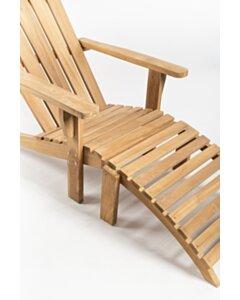 Adirondack Loungestoel met voetenbank - SL011