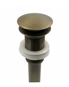 Moderne Pop-up Wastafelplug | 1 1/4 | Afvoerplug | Messingkleur