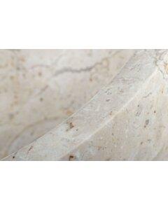 Blanco Mini   Fontein waskom wit marmer - 30x12 - SBP-FP-CREME-30