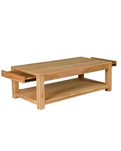 Cube - Teak salontafel | 130x70x45 - NV07
