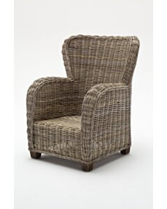 Queen rattan fauteuil   89x90x110 - NS-WICKERWORKS-CR42