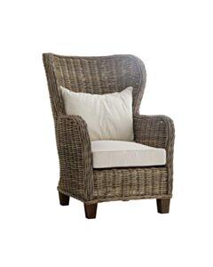 King rattan fauteuil   88x100x125 - NS-WICKERWORKS-CR44