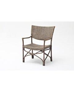 Squire rattan stoel   75x59x99 - NS-WICKERWORKS-CR47