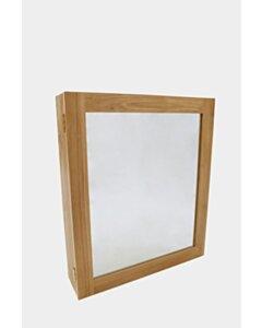 Teak spiegelkast | 60x15x70 - DEV-MIRROR-CBN-60x15x70