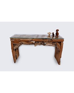 ROOT   Drijfhout Sidetable   125x40x70 - DEV-ROOT-WT-ROOT-125-40-70