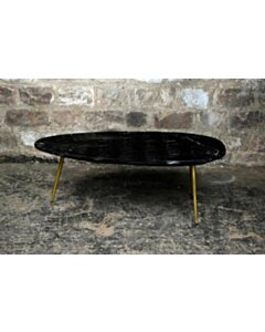 CT - Organic Marble Black Gold 110cm