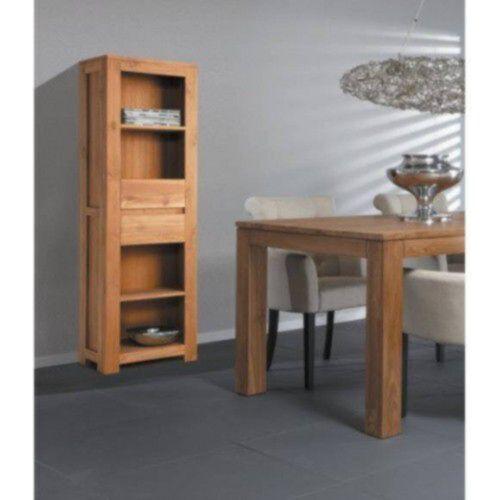 Teak boekenkast voor de huiskamer of kantoor - Kantoor lijnen ...